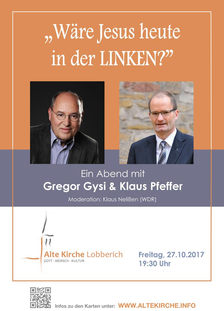 Im Gespräch mit Gregor Gysi